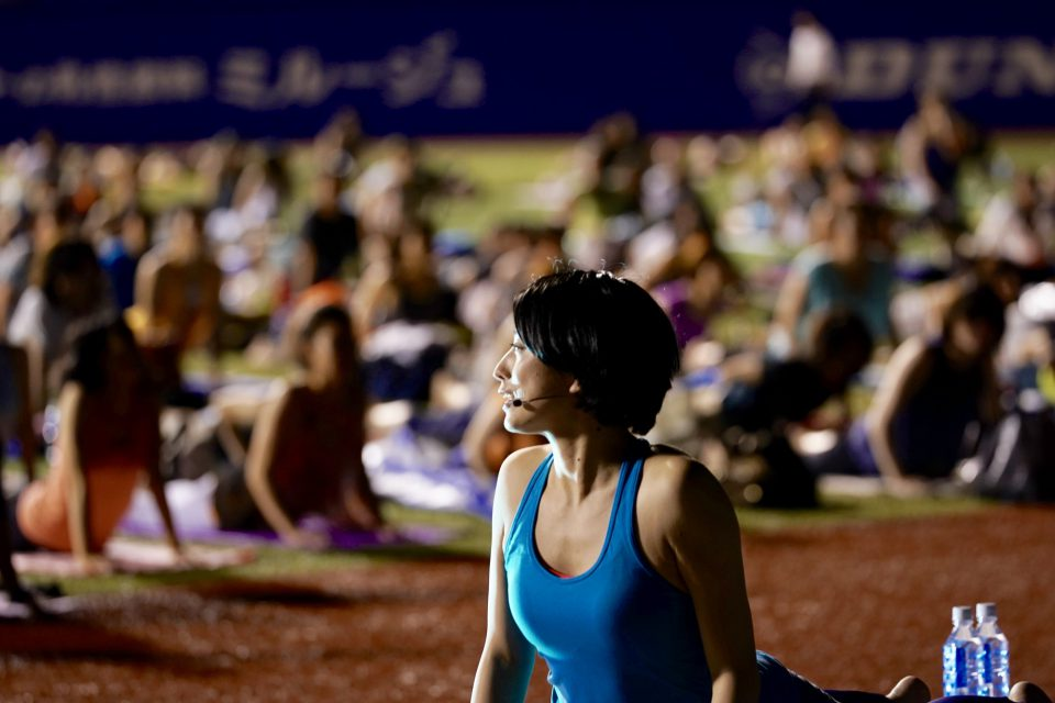 JINGUSTADIUM NIGHT YOGA 鈴木伸枝